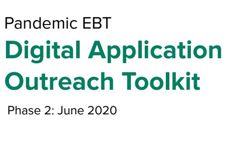 Pandemic EBT- Digital Application Toolkit