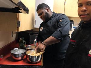 Knox cooking