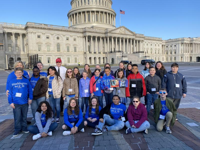 McBee Elementary Chorus Performs in Washington, D.C. Featured Photo