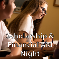 button for scholarship & financial aid night
