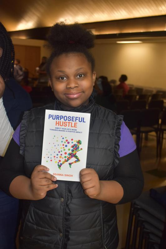 Granville Lutheran Students received copies of Deanna Singh's