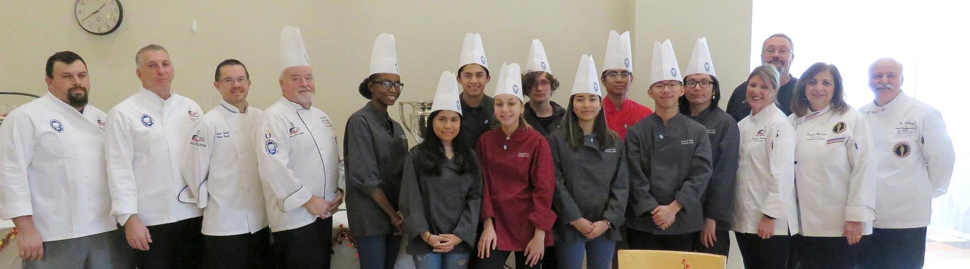 EHS Culinary Arts students