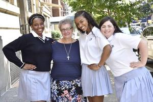 Sister Maria with students