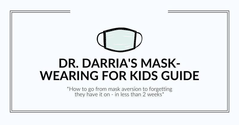Mask Wearing for Kids -- A Guide to Getting Your Child Comfortable Wearing A Mask Featured Photo