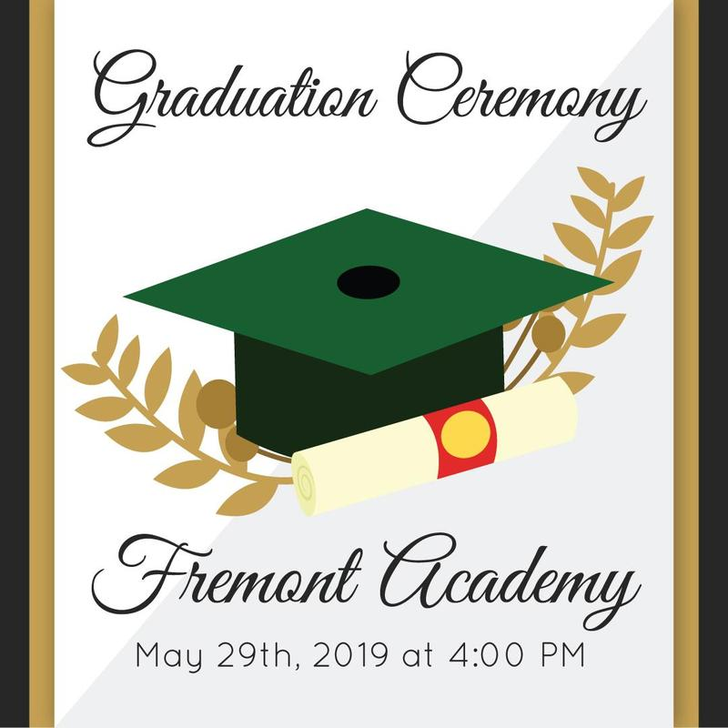 Fremont Academy: May 29th, 2019 at 4:00 pm #proud2bePUSD #StudentSuccess
