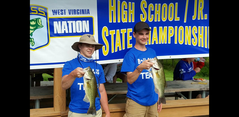 B-U Students placed 10th in the state out of 95 teams in Bass Masters Tournament  at Stonewall