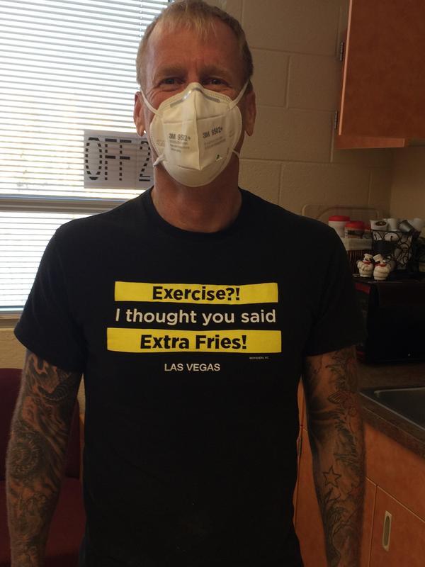 Our GREAT PE teacher!!