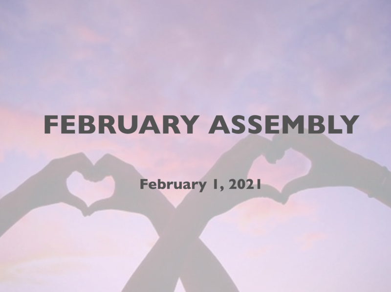 Condor February Assembly Featured Photo