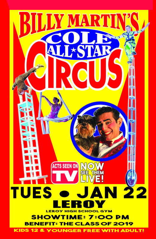 Cole All Star Circus is coming to LCSD