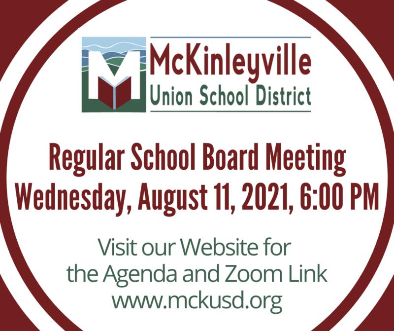 Board Meeting Flyer
