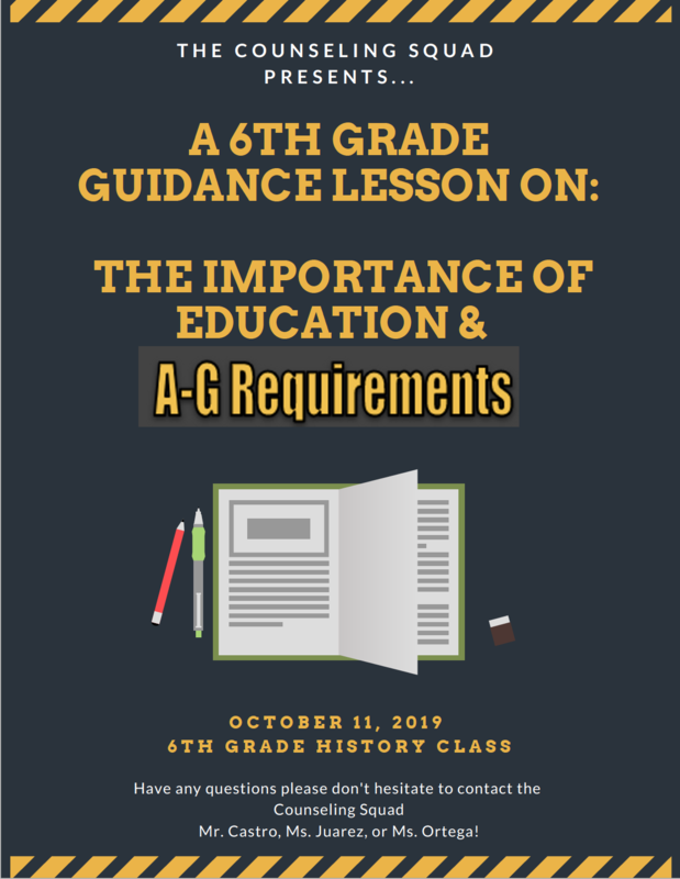 Importance of Education & A-G Requirements Thumbnail Image