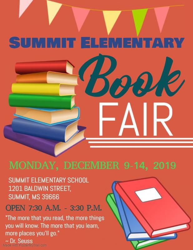 Summit Elementary School Book Fair 2019