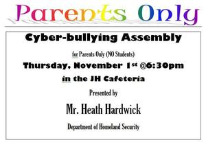 Cyberbullying Parents Assembly.JPG
