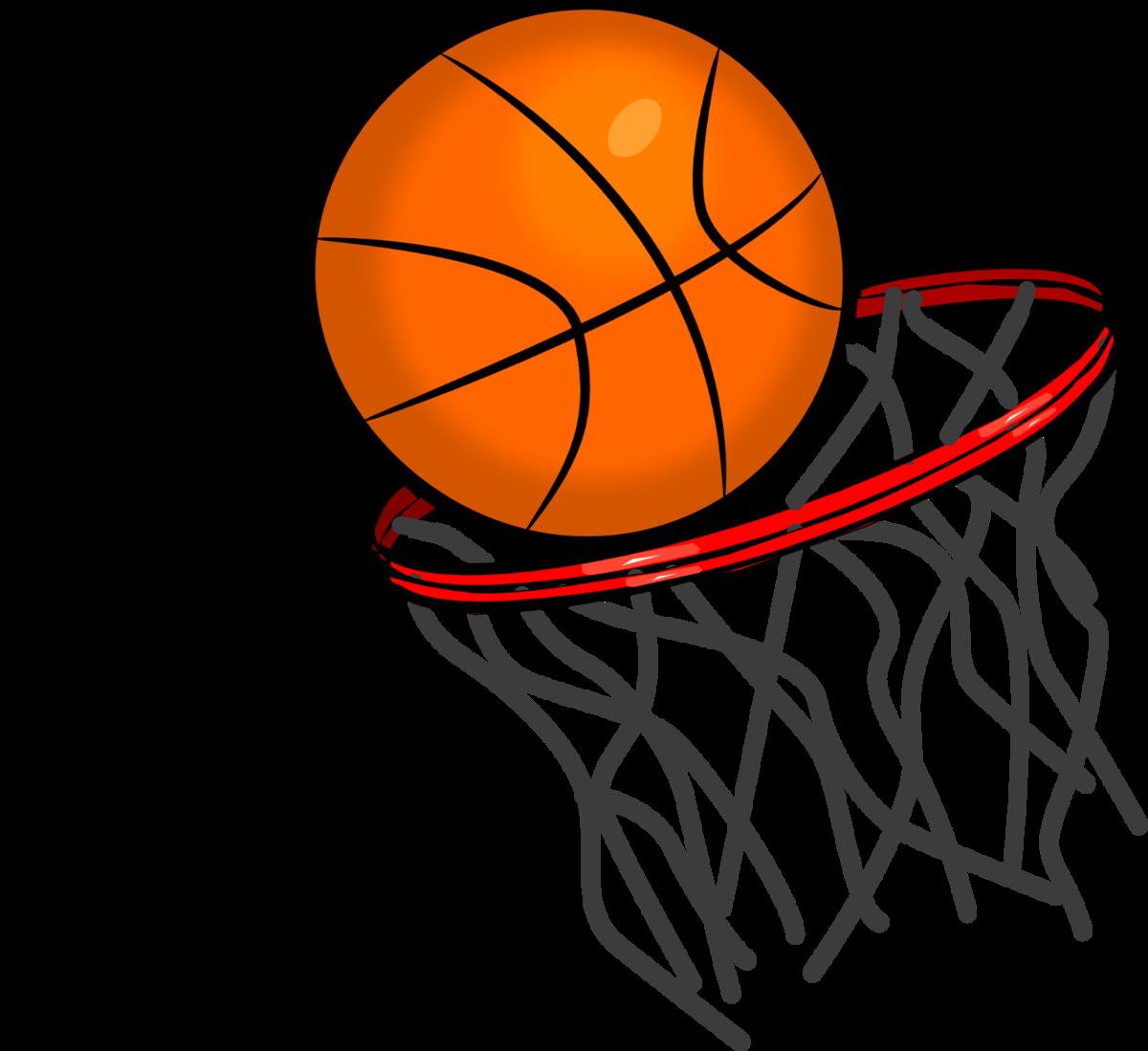 basketball into hoop