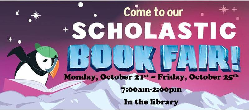 The Scholastic Book Fair is here! Thumbnail Image