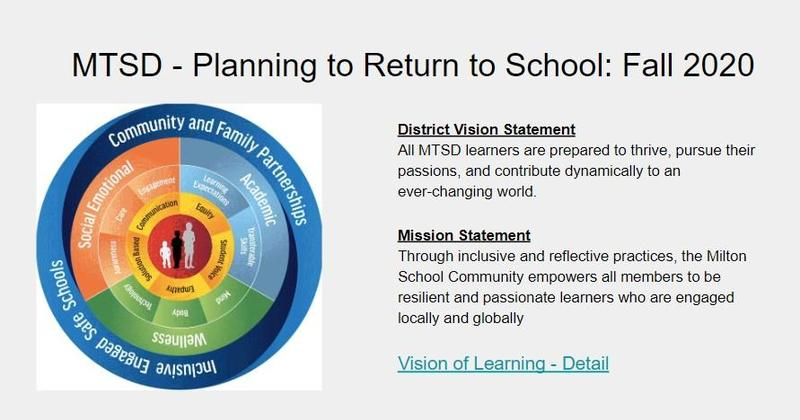 Whole Child Framework, Mission and Vision