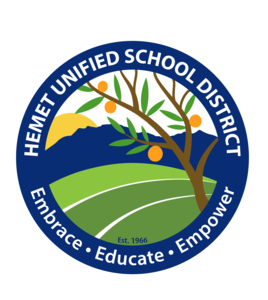 HUSD's logo