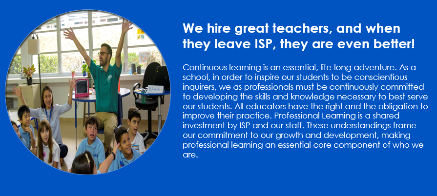 Professional Learning Banner