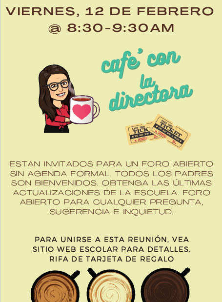 Coffee w/Principal SPA