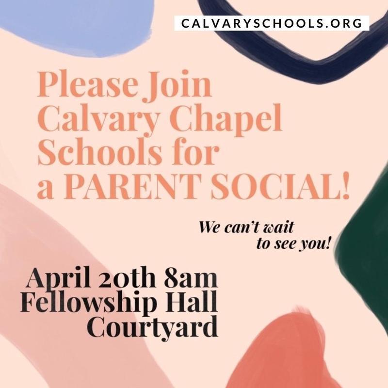 CCS Parent Social April 20th @8AM! Featured Photo