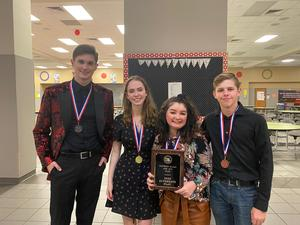 DISD Students awards