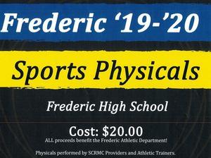 Sports Physical Twenty Dollars