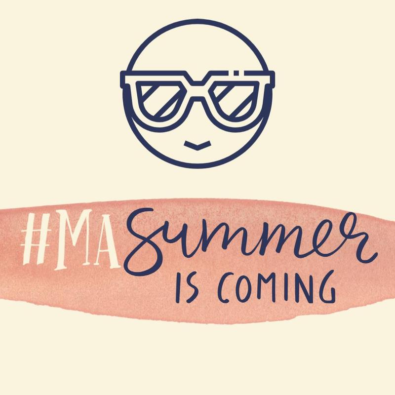 #MAsummer is coming with smiling face and shades
