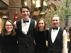 Four TKHS students were selected for the All State Honors Choir.