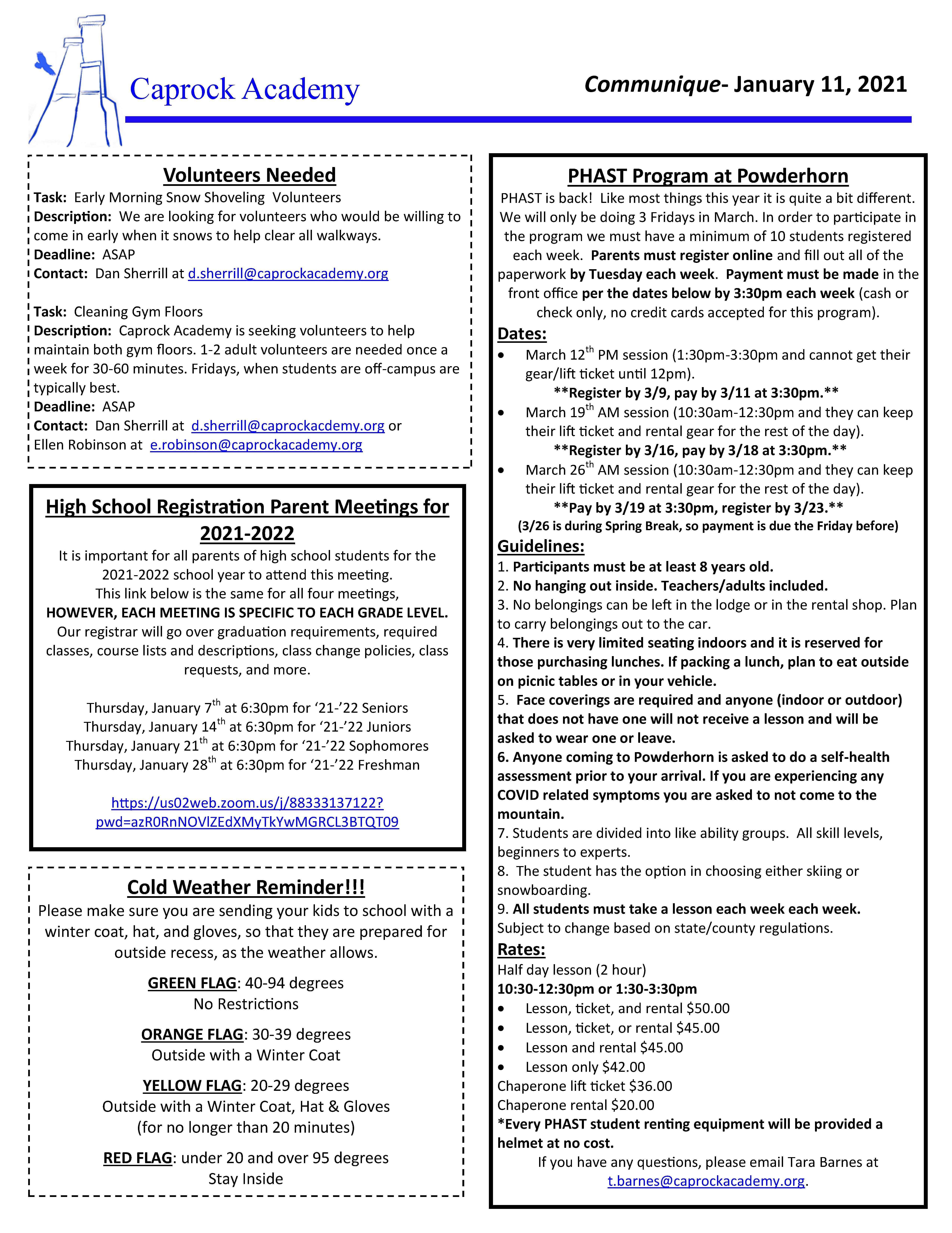 CA Communique 1-11-2021 page 2