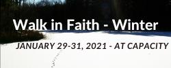 Winter Walk in Faith