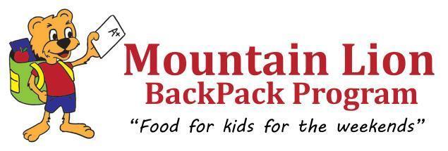 Mountain Lion BackPack Program