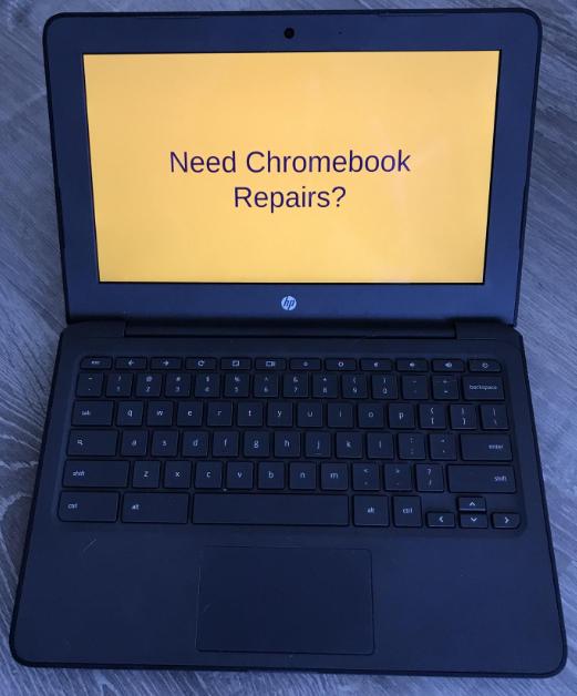 Chromebook Repair Process Featured Photo