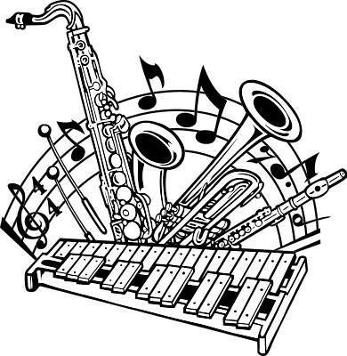band instrument clipart