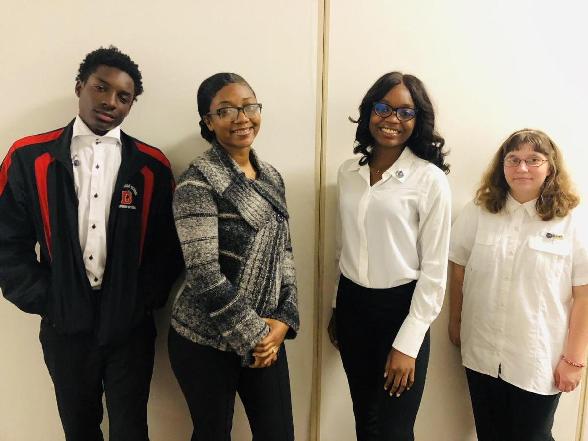Yesterday, Baker High School and Baker Middle School JAG Career Association Officers attended JAG's 24th Annual Student Leadership Conference held in Alexandria, LA.  Check out the photos below.