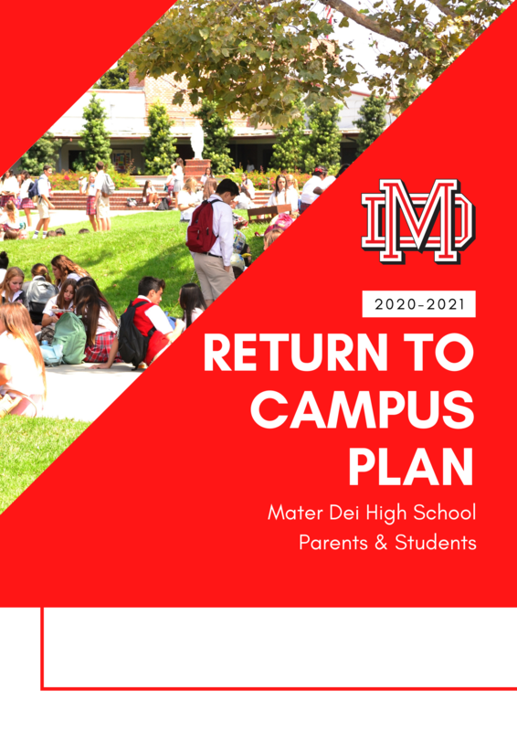 Return to Campus Plan Featured Photo