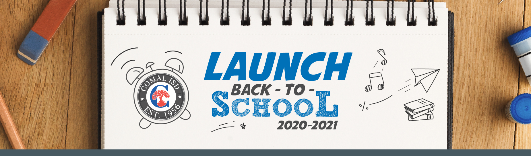 Launch Back to School Banner