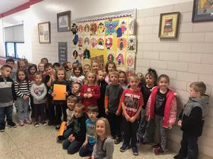 JES Kindergarten Turkey Disguise