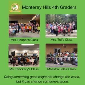 MHS 4th grade classes