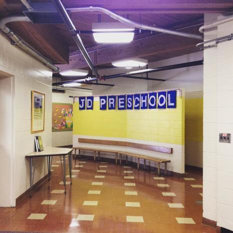 Jonathan Daniels Preschool Entryway