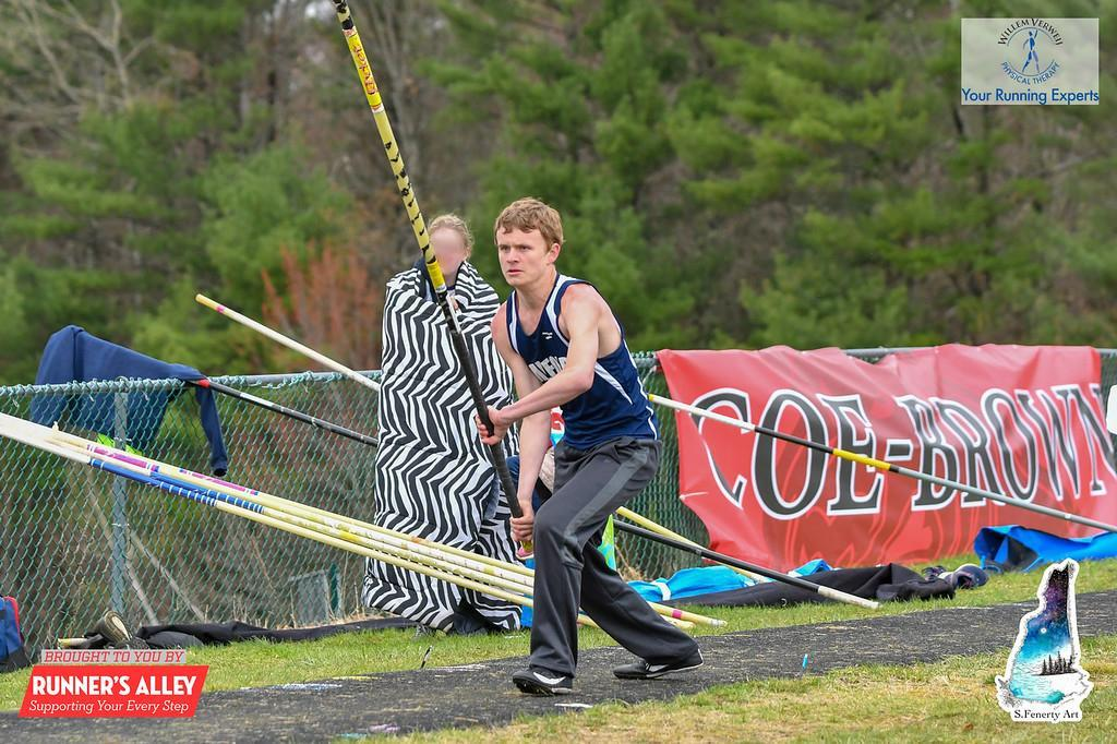 picture of B. Cook pole vaulting