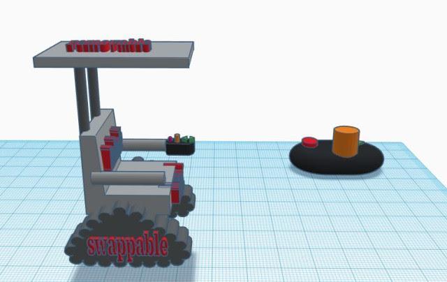 DareDevil Design Wheelchair prototype