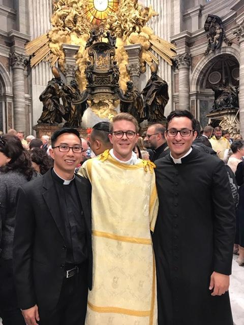 Deacon Jon Fincher Ordination in Rome Thumbnail Image
