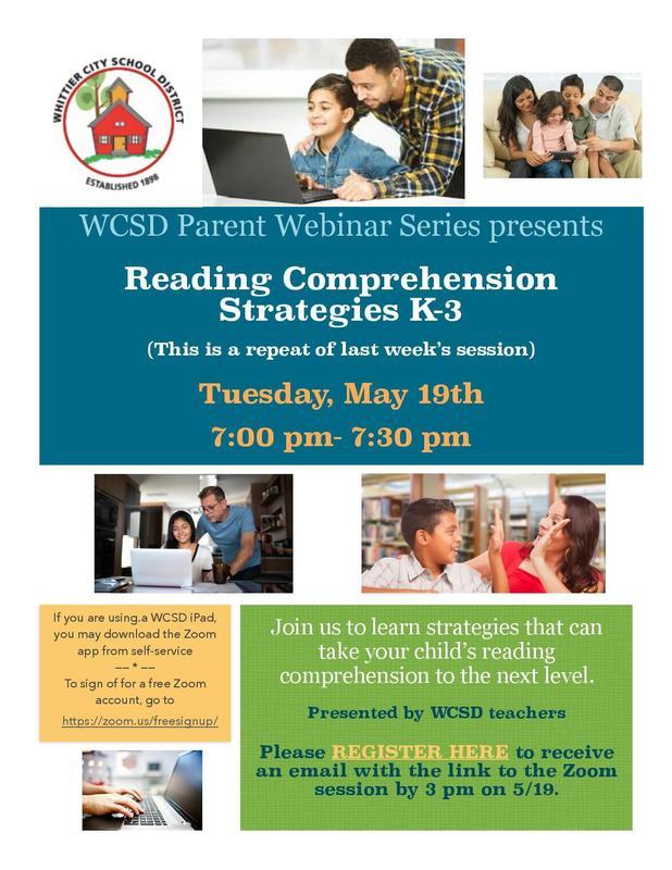 Reading Comprehension Strategies K-3
