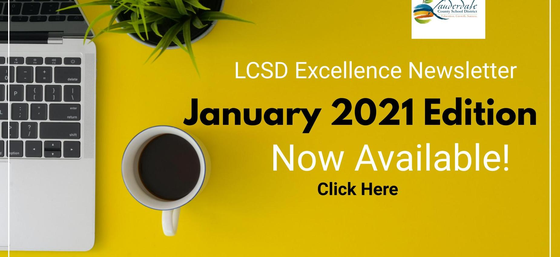 LCSD Excellence Website Graphic