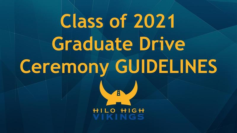 2021 Graduate Drive Ceremony GUIDELINES Featured Photo