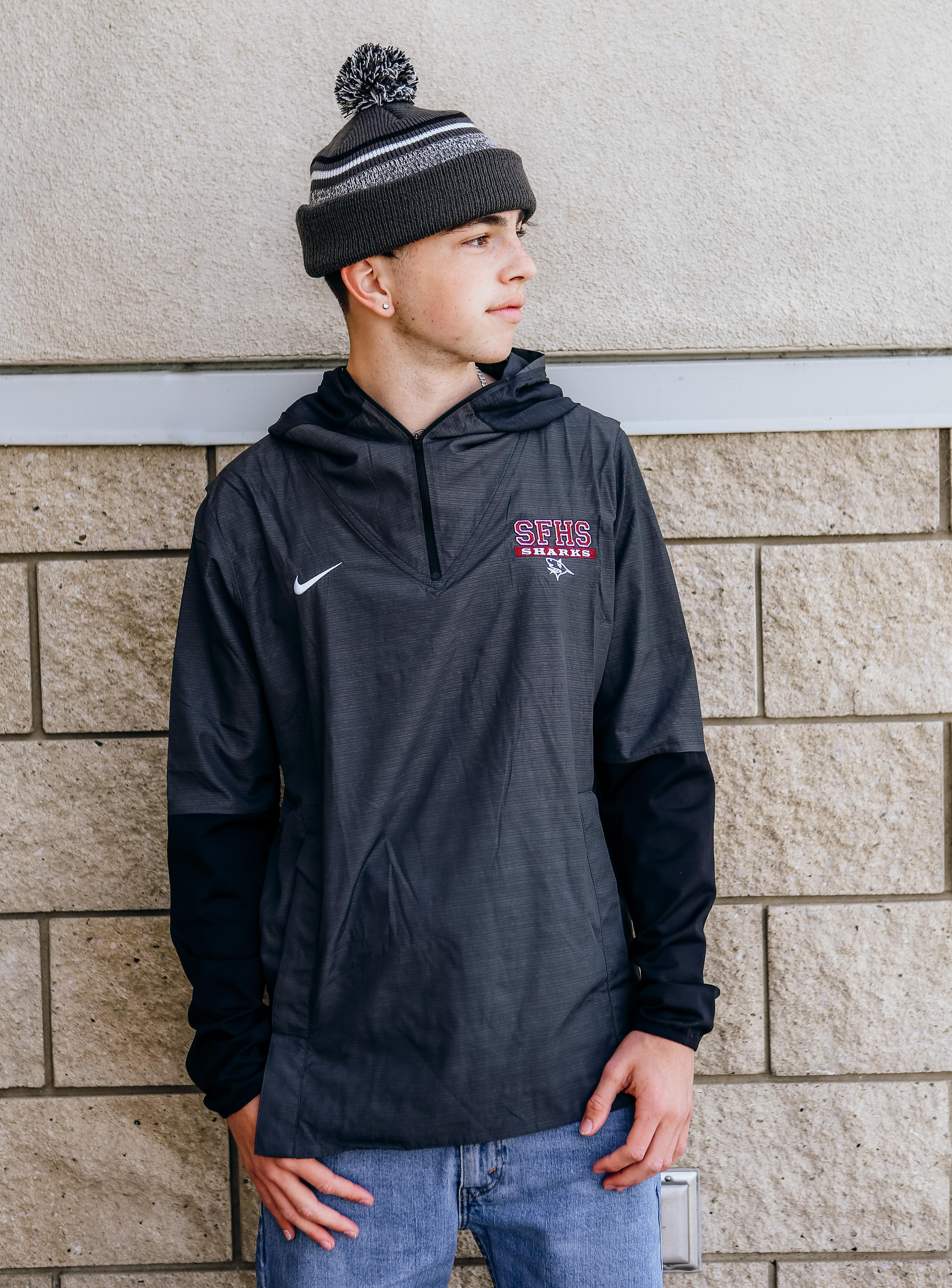 Nike 3/4 Zip Pull Over Jacket -Adult Small