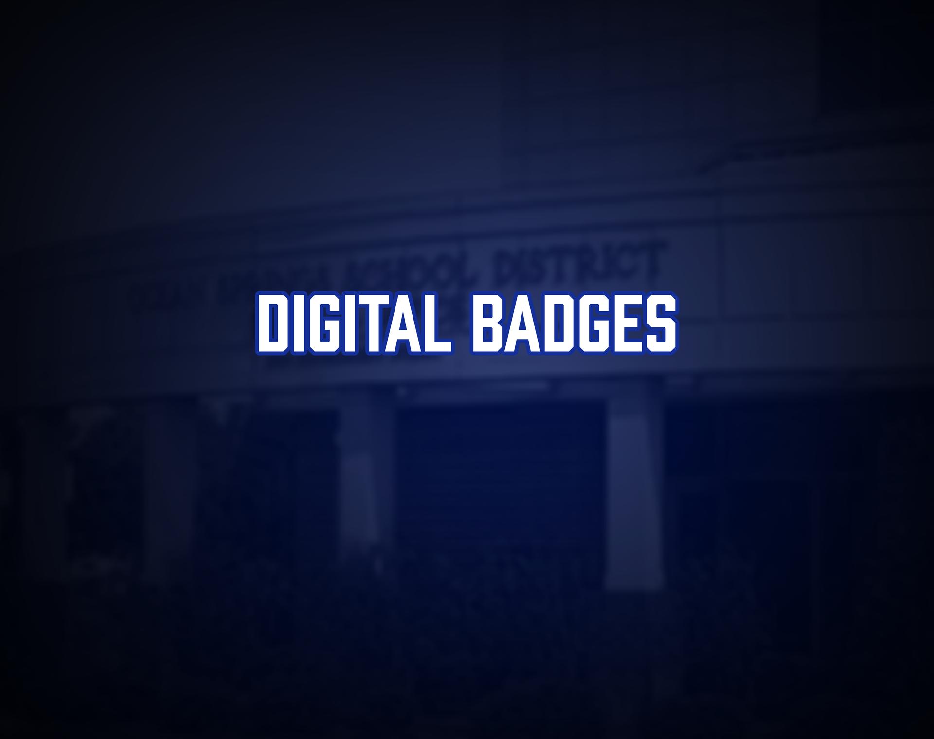Digital Badges Tile
