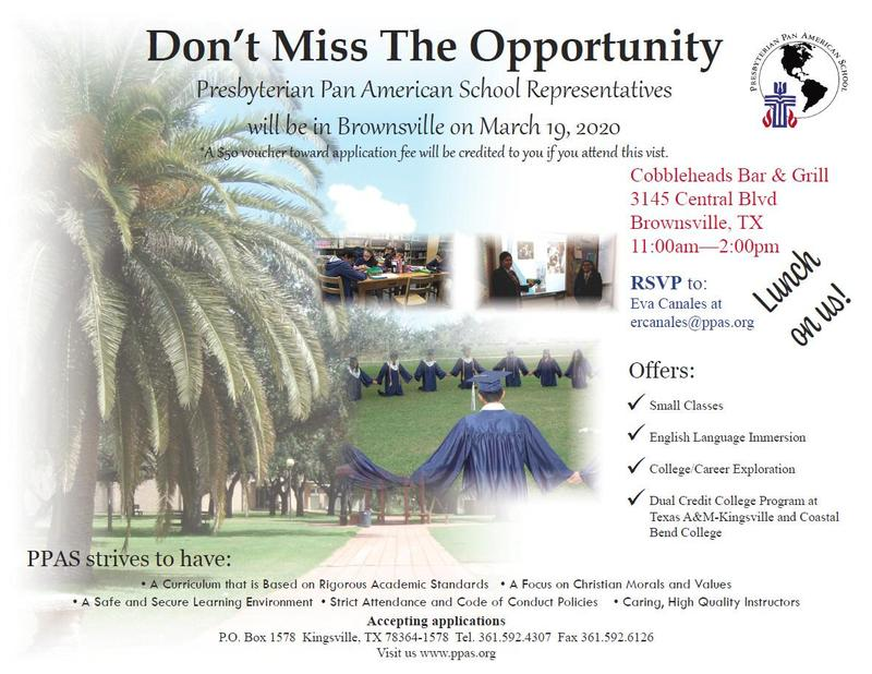 Recruiting Event in Brownsville - March 19, 2020 Featured Photo