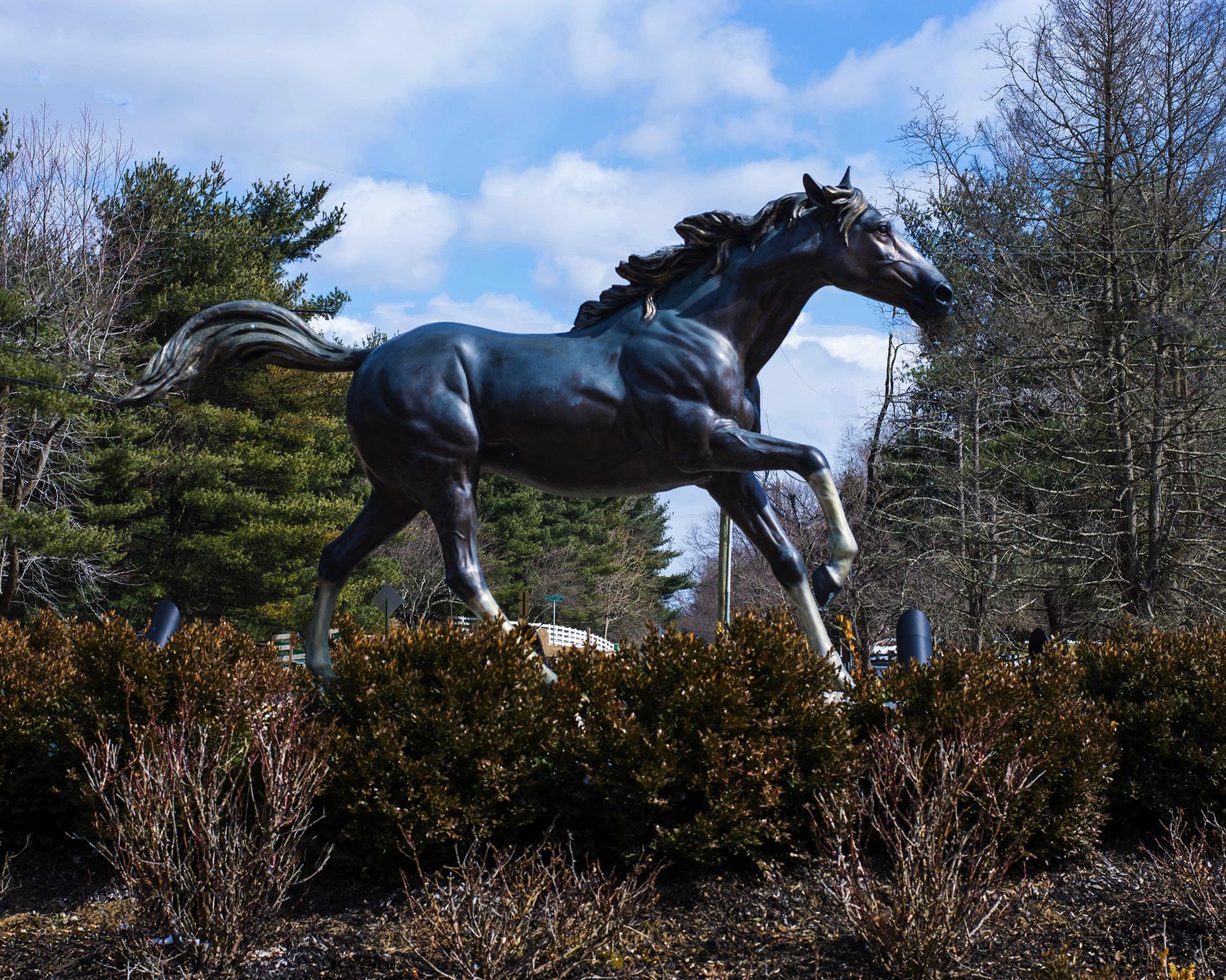 Colt Statue