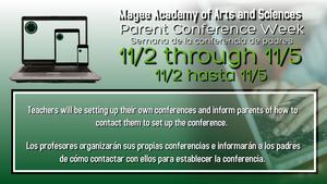 parent conference flyer